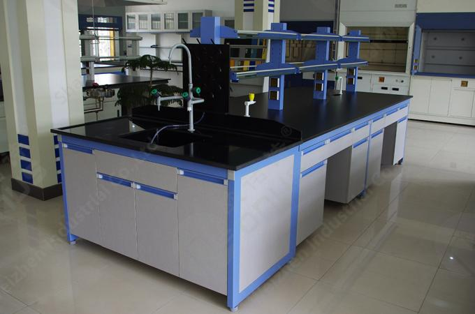Black Laboratory Countertops With Molded Marine Edge 2480 * 1580mm