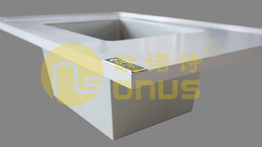 China White color drop In epoxy resin sink supplier