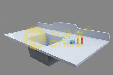 Strong acid resistance epoxy undermount sink 262℃ for Medical laboratory