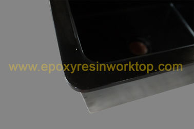 Strong alkali resistance epoxy undermount sink 1.0 meter for testing centre