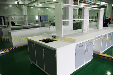 Resist strong alkalies laboratory work benches for food company
