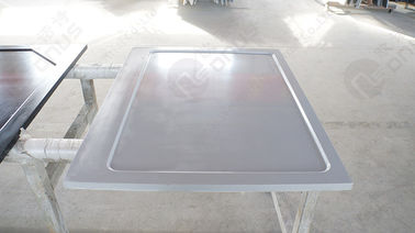 Grey Color Glare Surface Epoxy Resin Fume Hood Tops Chemistry Lab Countertops