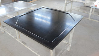 Laboratory  Epoxy Resin Corner Countertop  Marine Edge Non ‐ Porous Surface