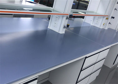 Chemical / Heat Resistance Laboratory Worktops Epoxy Resin Customized Size