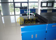 Monolithic chemical resistant table tops / laboratory work benches