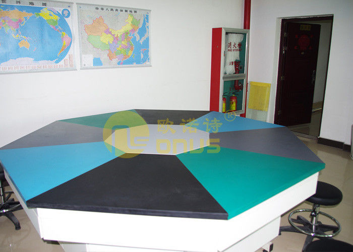 Customized Size And Color Epoxy Resin Laboratory Countertops SEFA Passed