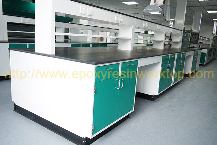 University anti aging science lab island bench epoxy resin chemical resistant countertops