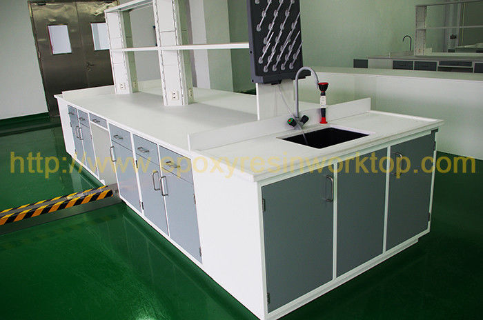 Water - Repellent  Epoxy Resin Laboratory Bench Top Various Thickness Available