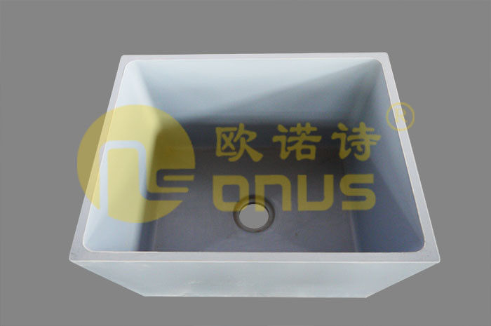 Resist Strong Acids and Alkali Epoxy Undermount Sink for
