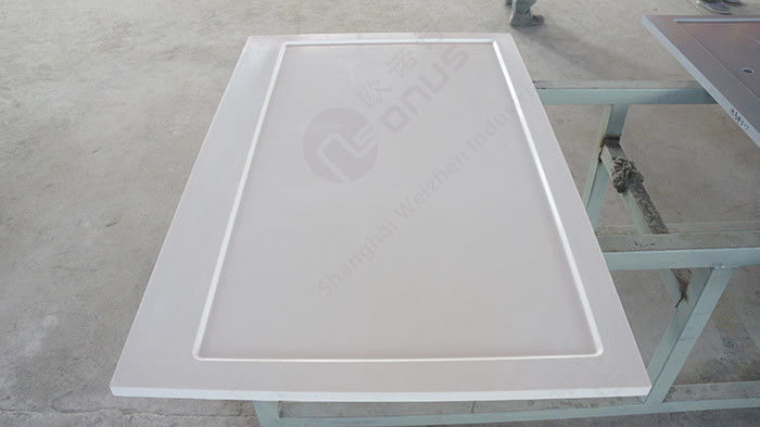 Epoxy Resin Chemistry Lab Countertops With Molded Marine Edge And 32 mm Thickness