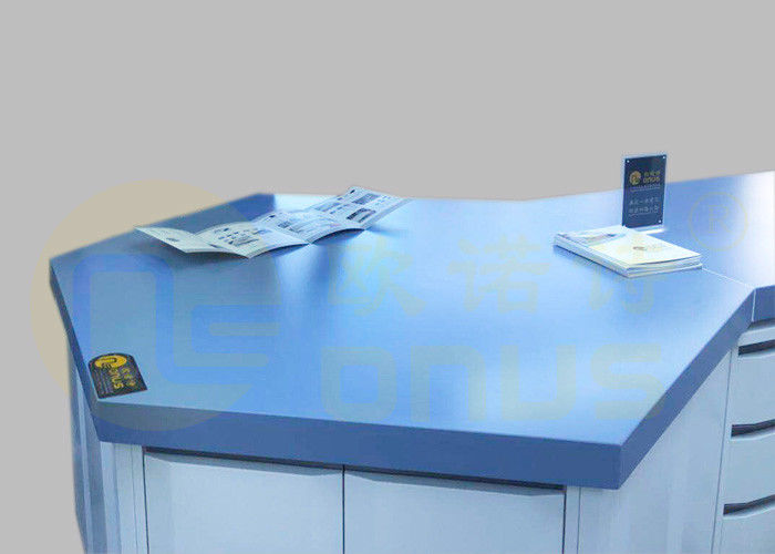 Multilateral Type Epoxy Laboratory Countertops Repairability Customize Color