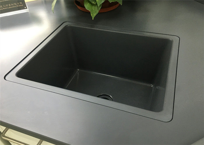 Laboratory Bench Drop In Sink/ Easy To Installation With Glue