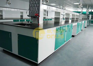 China 1.8 meter laboratory table tops countertops with strong acid resistance for university factory