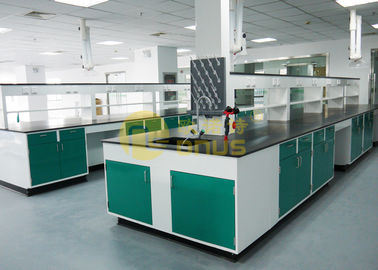 China Monolithic science lab table top material glare surface for testing center factory