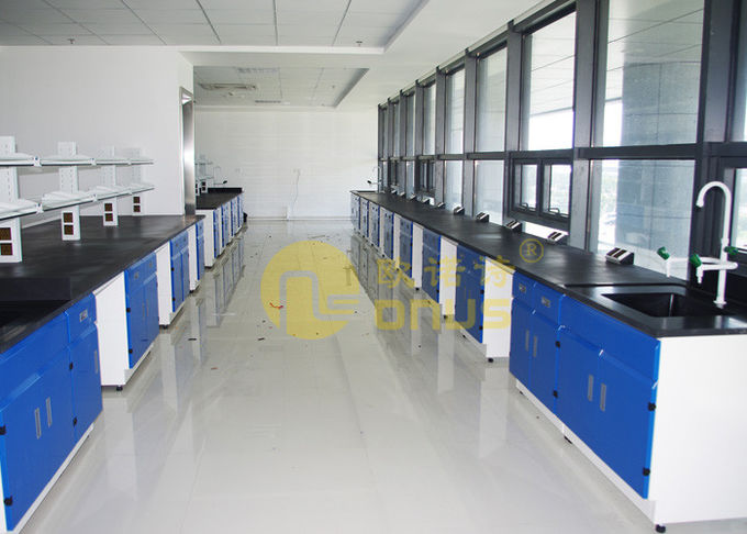 Classic Lab Furniture Epoxy Resin Worktop With Corrosion Resistance
