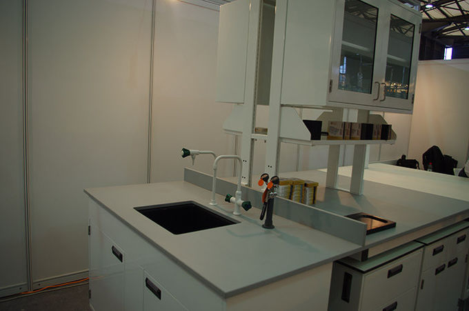 Matte surface science lab countertops