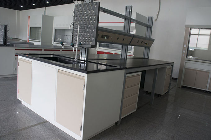 Amazing Lab Bench Tops Part - 7: Acid Resistant Laboratory Bench Top With Monolithic Tec 12mm Thickness