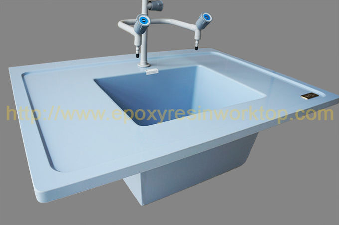 Marine Edge Epoxy Lab Countertops 1000 * 1000 * 25mm With Durability / Safety